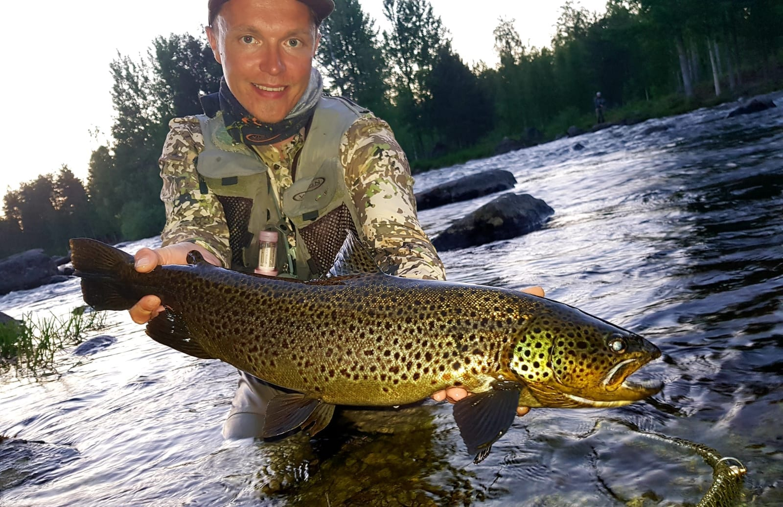 Low-light conditions mean great fishing, but challenges for the camera man